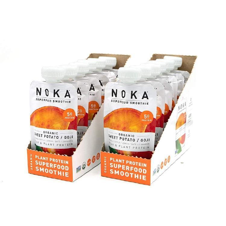 The 12-pack Sweet Potato Vegan Smoothies