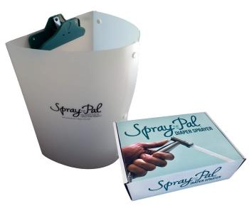 Spray Pal Cloth Diaper Sprayer and Splatter Shield Bundle