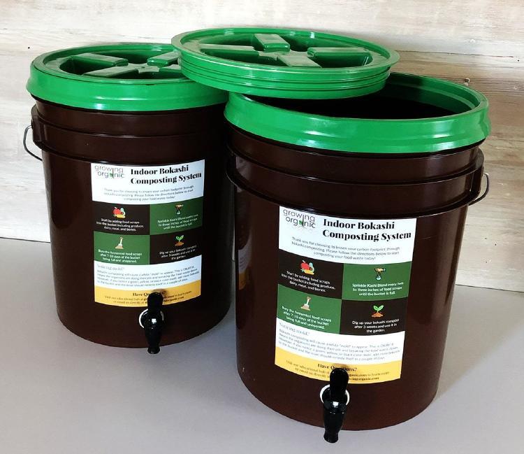 2 Bucket Bokashi Composting System