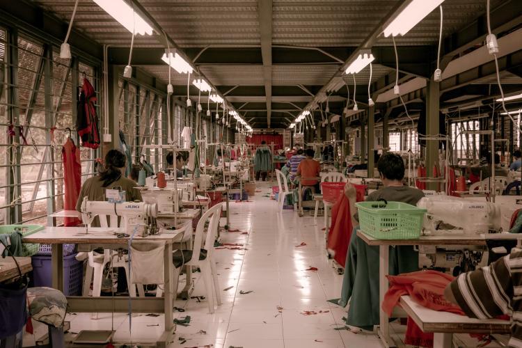 a fashion workshop