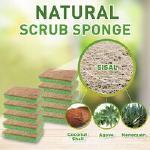 Scrub-it natural scrub sponge