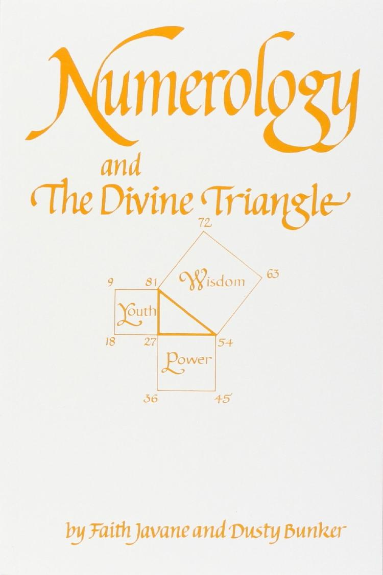 cover of Numerology and the Divine Triangle