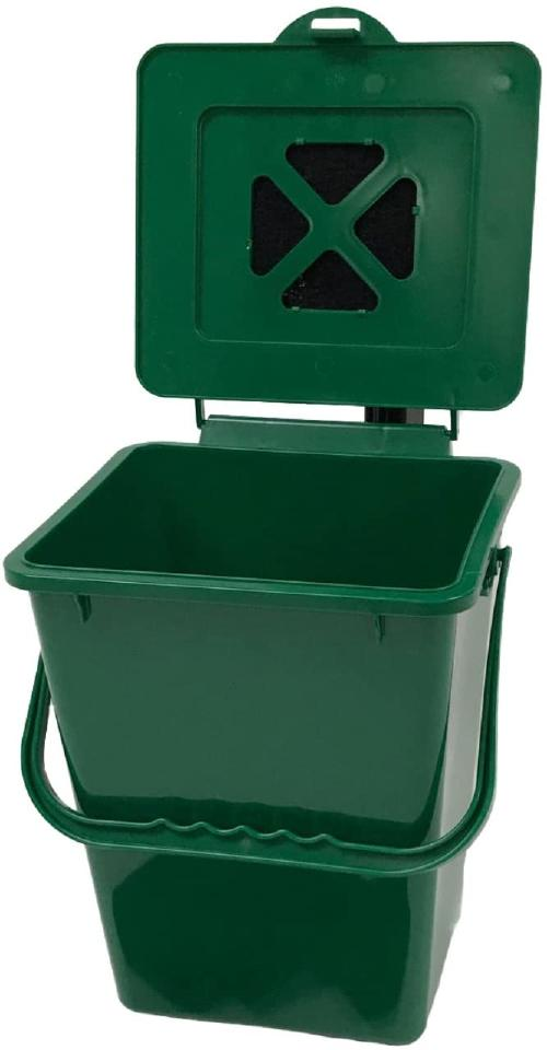 The Exaco composter is open