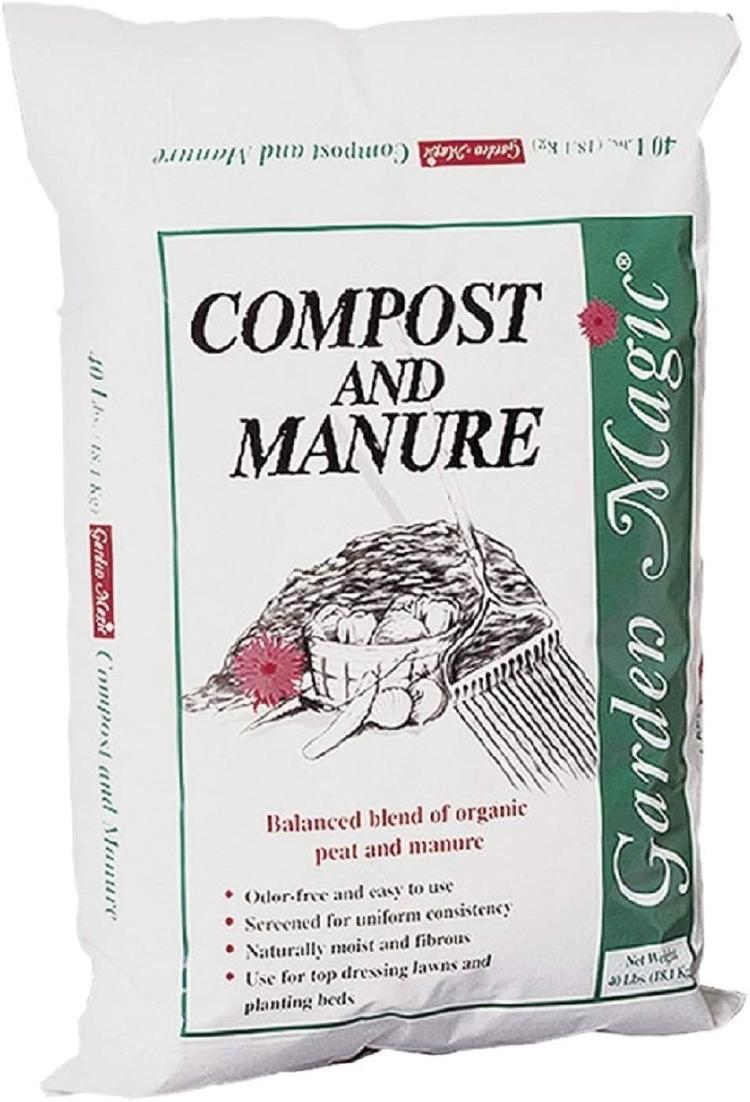 Garden Magic compost and manure.