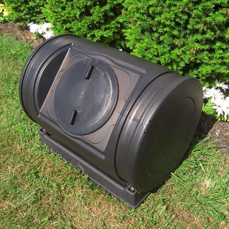 The Ez composter in the garden