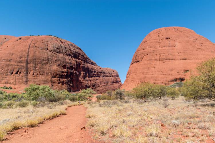 brown rock formation in Australia