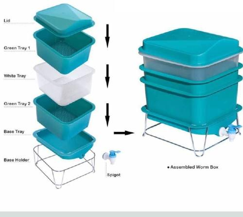 description of the trays