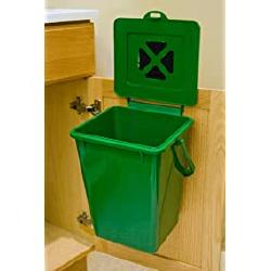 The Exaco composter mounted in the kitchen