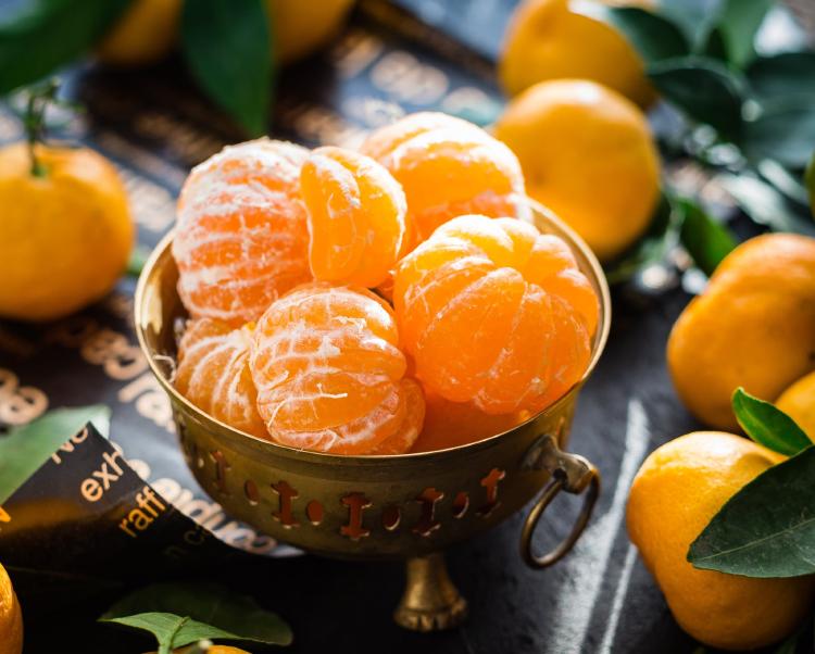 fruit bowl close up