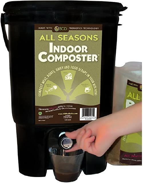 SCD probiotics all seasons indoor composter kit
