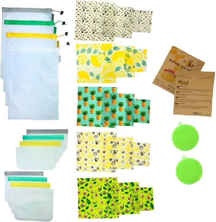 Green kitchen kit.