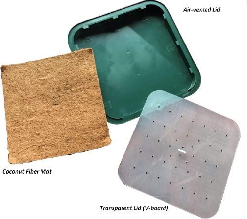 unassambled tray