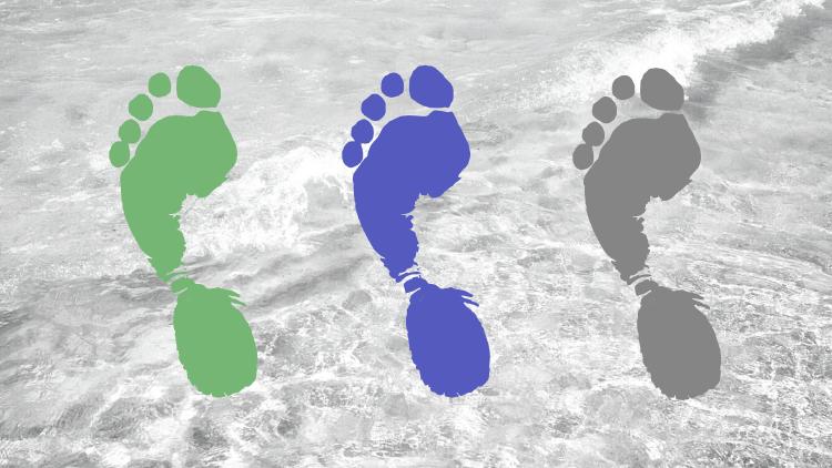 Footprint colors
