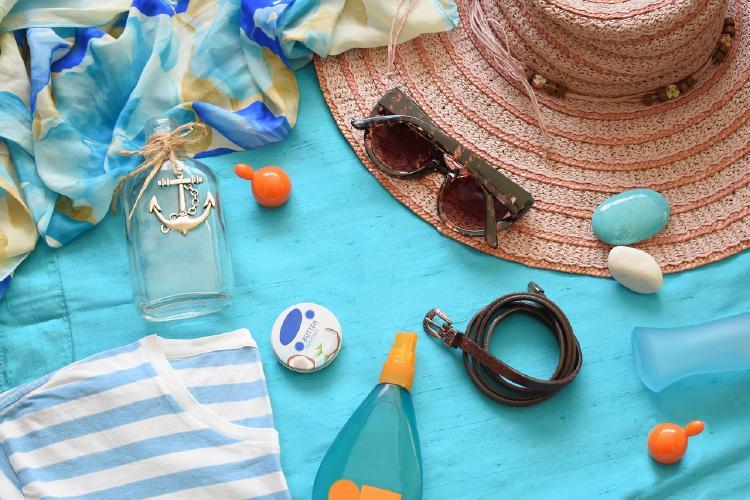 Summer Flat Lay - Pixabay License